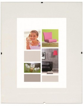 BRIO clip frame 10x15 cm / 50x70 cm normal glass
