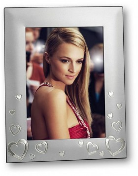Conny metal portrait frame silver 10x15 cm, 13x18 cm and...