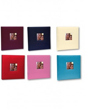 Cotton con Velina Photo Album 24x24 cm and 31 x 31 cm