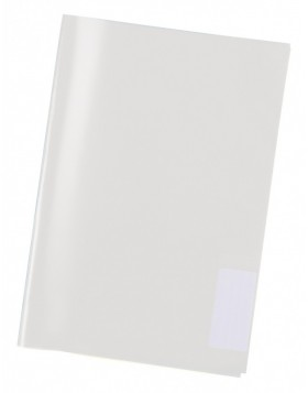 Din A4 transparent book cover by Herma