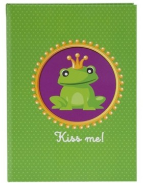 pocketbook green Frog King DIN A5