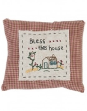Decorative pillows BLESS THIS HOUSE 15x18 cm