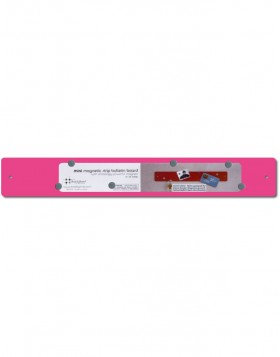 Mini Magnetic Strip in pink 14x2