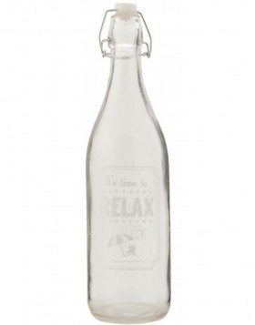 decorative bottle 6GL1263 - � 7x26 cm