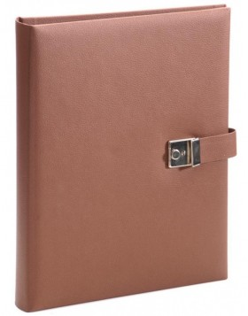 Document folder Bologna brown