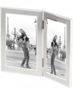 JAZZ double picture frame 13x18 cm