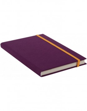 Notebook A5 lined Linum blackberry