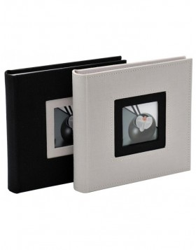 memo slip-in album Black&White (grey - white)