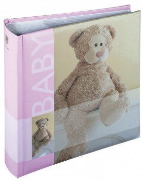 baby slip-in photo album BOBBI - pink