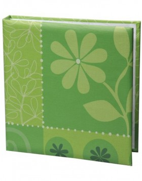 slip-in album Flower Festival green 200 photos 10x15 cm