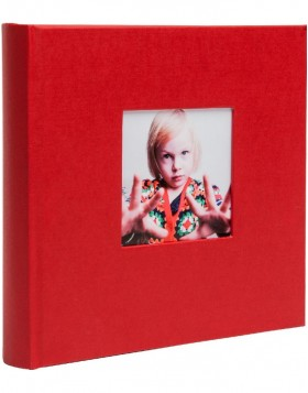 slip-in album Laddi 200 photo 10x15 cm red