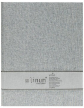 slip-in album Linum gray 300 photos 10x15 cm