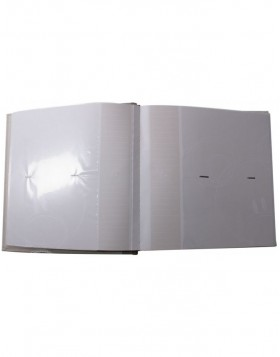 slip-in photo album Sammy - 22x22 cm - beige