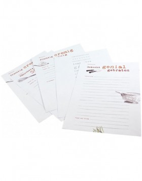 Refill sheets Din A4 recipe book family recipes
