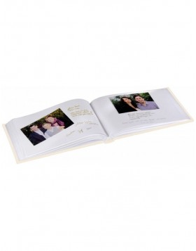 Almeria Photo and Guest Album, 30x20 cm, 60 white pages