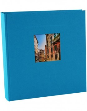 Photo Album Bella Vista turquoise 30x31 cm
