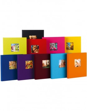Photo album Bella Vista 30x31 cm black pages