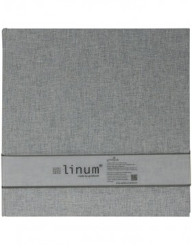 Photo Album Linum gray 30x31 cm