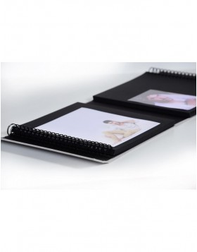 XL photo album 1000 photos 10x15 cm LONA grey