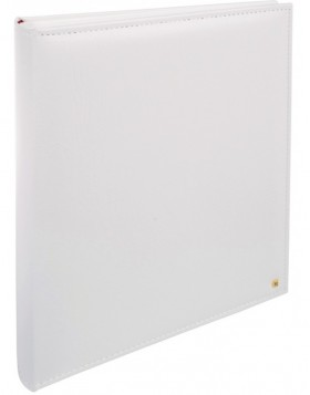 Photo Album Lonzo white 30 x 36,5 white pages