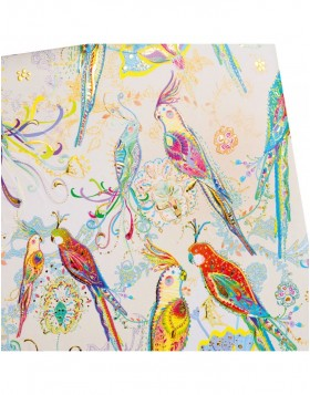 Photo album Silver Moon parrot 30x31 cm