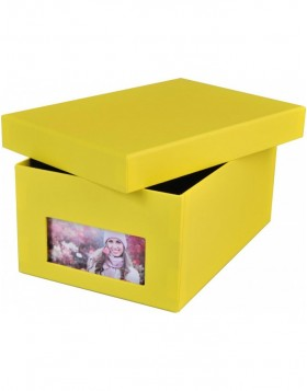 photo box Kandra yellow ribbed