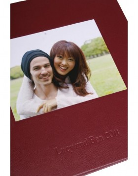 Photo book with your picture and text - KOLARA bordeaux