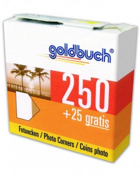 Photo corners Goldbuch 250+25pieces