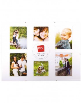 Photo Gallery clip frame 30x40 cm 7 photos