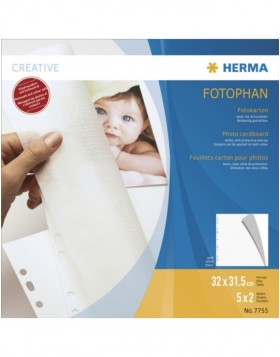 photo mounting board white 320x315 mm 5 sheets