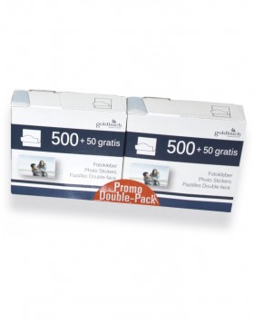 Photo stickers savings pack 2x 500 pieces