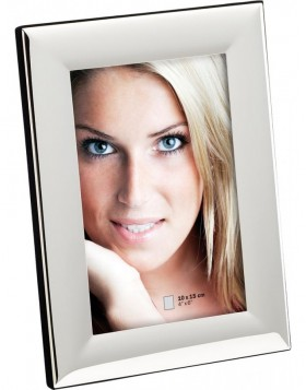 Photo frame Greta silver plated 10x15 cm to 15x20 cm