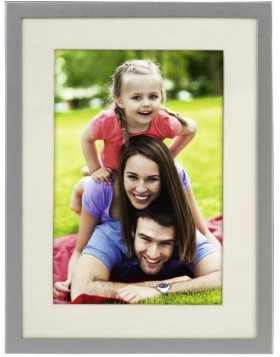 Photo Frame Illinois silver 10x15 cm, 13x18 cm and 15x20 cm