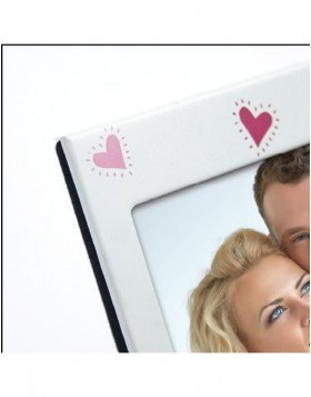 DANA metal picture frame love