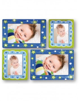 Photo frame self-adhesive for picture format 10x15 cm