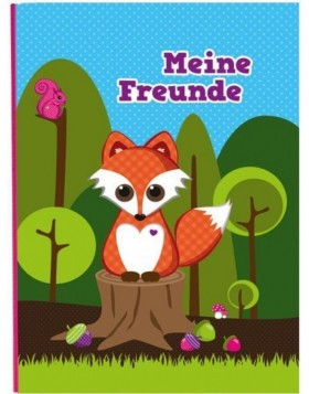 Freundebuch Little Fox