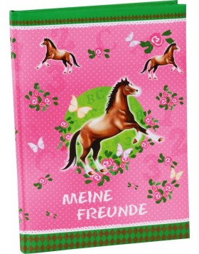 Friendship book horses