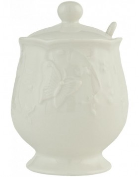 GBSU sugar bowl with lid