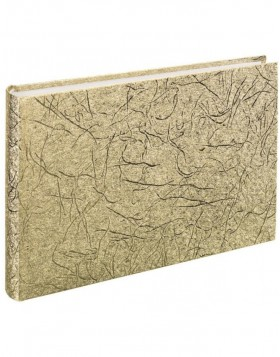 Gästealbum Caracas 30x20 cm gold