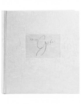 Tsarina guest book in white