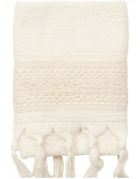 guest towel Clayre-Eef TOW0002SN Natural
