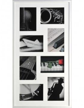 Piano Gallery Frame 3-8 photos 13x18cm glossy