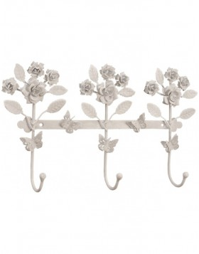 ROSE PETALS coatrack 37x21x6 cm