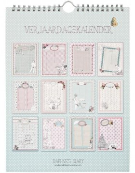 birthday calendar Daphnes Diary Dutch
