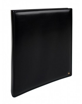 GRAN CARA photo album black with black sides
