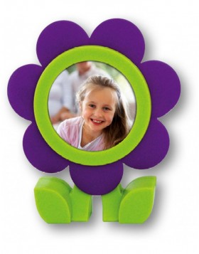 Rubber Picture Frames Flower 6x6
