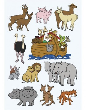 HERMA Sticker DECOR Noahs ark
