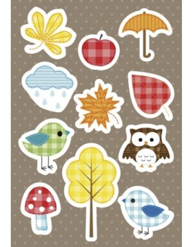 HERMA Sticker DECOR Autumn joy