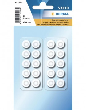 HERMA Glass top protector Ø 12 mm