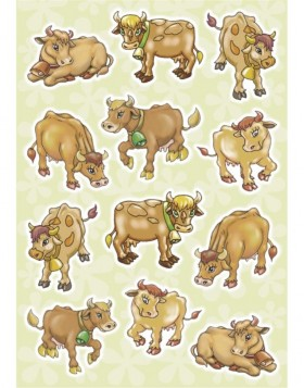 HERMA MAGIC cows, Sponge
